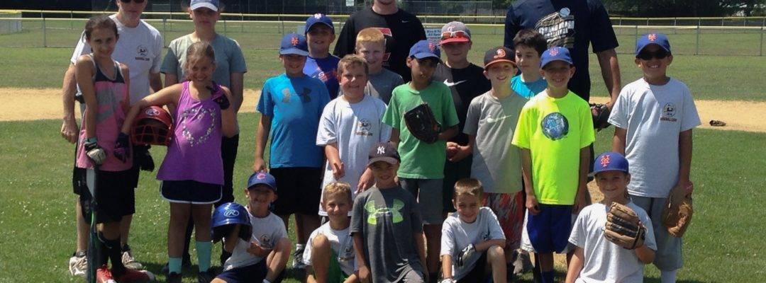 Locust Ave Town Ball Fields Summer Baseball Camp
